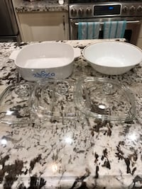 Corningware dishes and lids Pickering, L1W 2S8