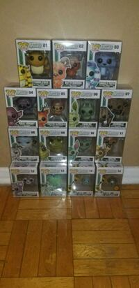 Monsters funko pops 1st & 2nd wave complete  Toronto, M1L 2T3