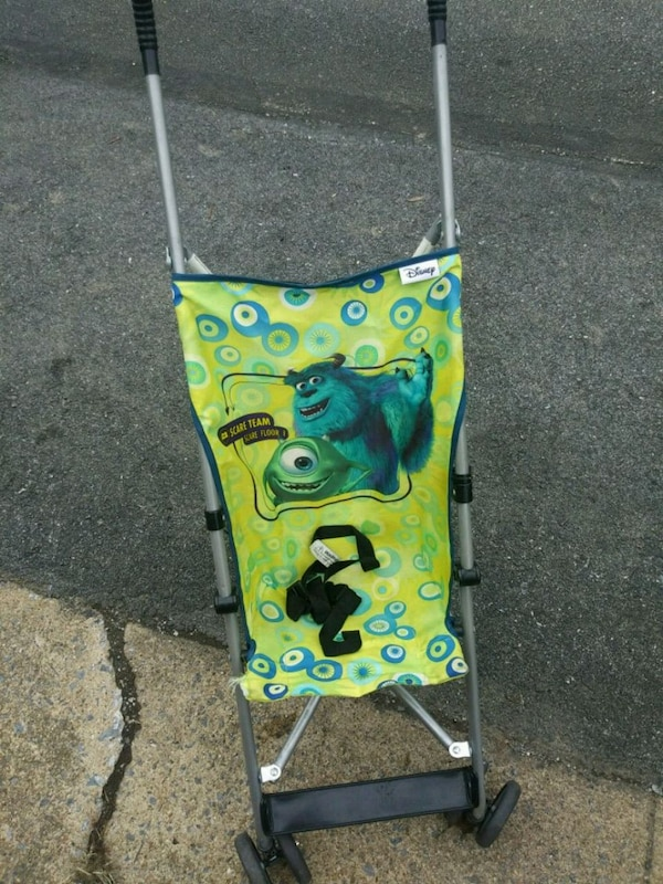 baby's yellow and blue lightweight stroller 0a9cac5e-6e14-4953-b460-18944ebfd353