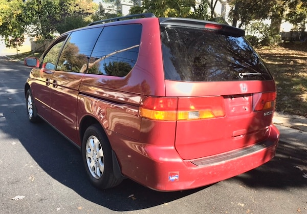 2002 Honda Odyssey' leather Drives great ' reliable b01fd474-6d58-4315-a373-38d2209a7d29