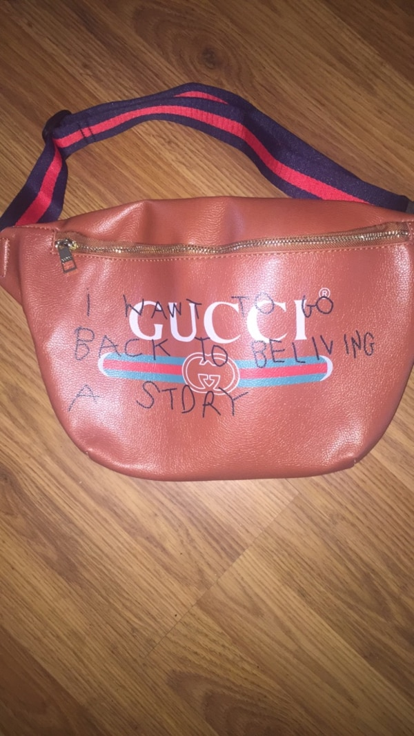 857d29f76 Used gucci fanny pack for sale in Jacksonville - letgo
