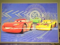 Disney Pixar Cars Lightning McQueen framed 3D wall art