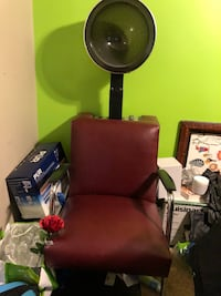 black and gray salon chair Germantown, 20874