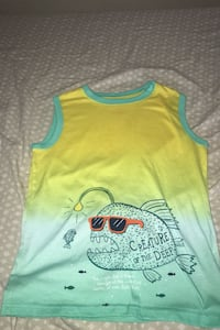 Boys tank top shirt