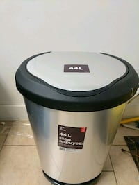 44l foot pedal garbage can