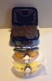 Oakley Switch Sunglasses with 2 extra Sets of Lenses In box London