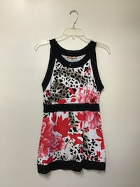 Women's BELLDINI Vicose/Nylon sleeveless top… Size XL