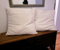 2 Large New Decorative Pillows  Alexandria, 22304