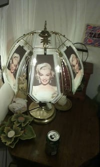brass black and white marilyn monroe table lamp Tallassee, 36078