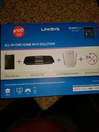 Linksys all-in-one home wi-fi solution box North Las Vegas, 89081