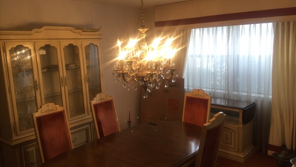 Dining Room Set W China Cabinet And Buffet Table Would Prefer To Sell As A