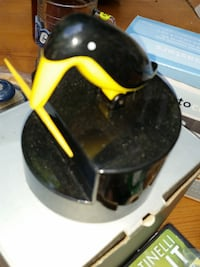 Vintage penguin toothpick holder - picks it up! Fort Belvoir