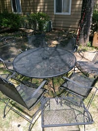 8 piece metal patio set Austell