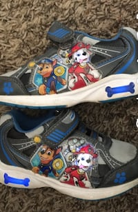 Light-Up Paw Patrol shoes toddler size 6