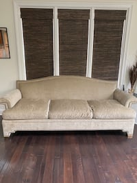 Like new, studded sofa Crownsville