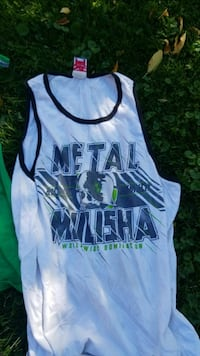 Metal mulisha muscle shirt