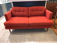 West Elm Peggy Loveseat couch