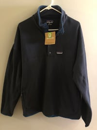 Patagonia Mens Better Sweater Lightweight Marsupial Pullover - XL NAVY Foxboro, 02035
