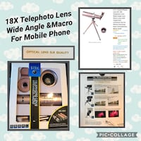 18X telephoto lens Cookeville, 38501