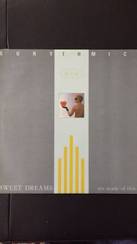 Eurythmics Sweet Dreams LP Toronto, M3B 1B9