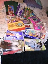 All different kinds of barbies new in box Indianapolis, 46225
