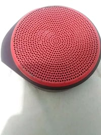 round red and black portable speaker Lehigh Acres