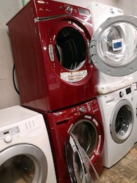 Mix & match front load washer & dryer set working perfectly