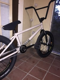 white and black BMX bike Tampa, 33647