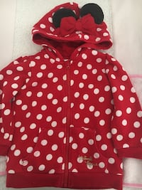 Sudadera Minnie Mouse T. 12-18 meses