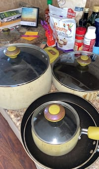 Pots and Pans- offers accepted