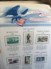 3 sets of united states commemorative stamps 1964-1973 Milwaukee, 53212