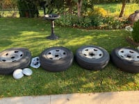 Rims and Tires off of 2007 Ford F-150 Brampton