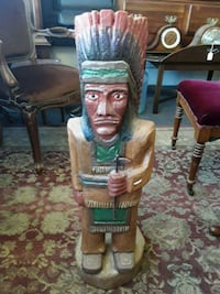 Wooden Carved Native American Figurine Odenton, 21113