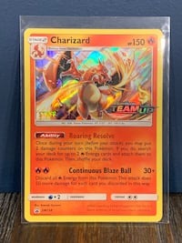 Pokémon cards staff Charizard team up