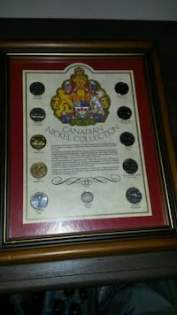 Coins,  framed for displaying Toronto, M8Z 0B7