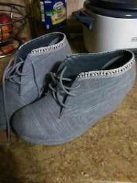 pair of gray suede shoes Fort Pierce, 34946