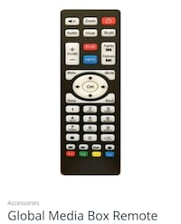 WANTED! Global Media iptv remote control  Toronto, M9M 0B5