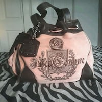 JUICY COUTURE Embroidered Handbag in Pink