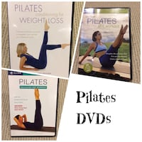 Pilates Exercise DVDs (BNIB) $6 each or take all 3 for $15 Ajax, L1T 0A9
