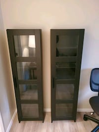Black Wood 6 shelf panels