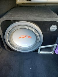 """12"""" subwoofer in ported box and amp  New Hyde Park, 11040"""