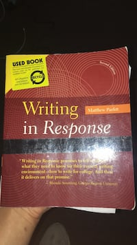 English 111 Textbook Writing in Response Annandale, 22003