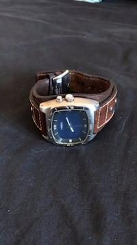 Fossil Watch - Brown Leather Band Vaughan