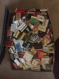 1430 vintage matchbooks from all over the world and United States. Henderson, 89074