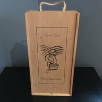 Wooden Wine Box  Toronto, M8Z 0C5