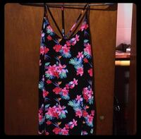 Black and Floral Tank Top Baltimore, 21222