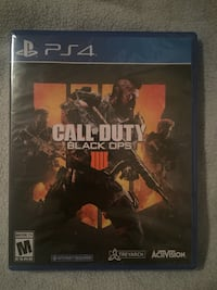 CALL of DUTY: BLACK OPS 4 | BRAND NEW (FACTORY SEALED) | PS4 Los Angeles, 90020