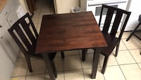 Table 2 chairs in great condition.  Lafayette, 70506