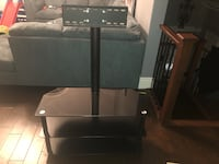 Tv stand with mount - excellent condition, black Kitchener, N2C 2T5