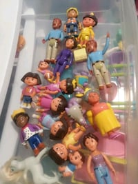 assorted color plastic toy lot Lakeland, 33810